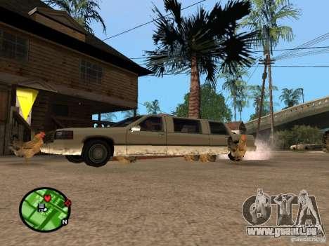 Poulets dans GTA San Andreas pour GTA San Andreas quatrième écran