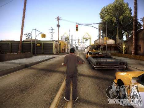 SA DirectX 1.1 Beta für GTA San Andreas her Screenshot
