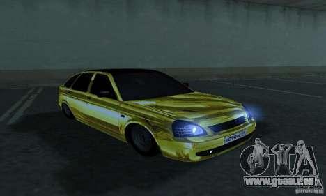 Lada Priora Gold pour GTA San Andreas vue de droite