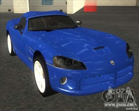 Dodge Viper pour GTA San Andreas