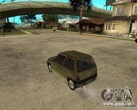 OKA 1111 Kamaz für GTA San Andreas linke Ansicht