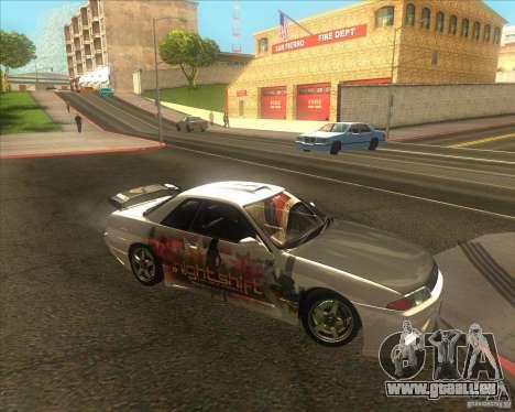 Nissan Skyline R32 GTS-T type-M für GTA San Andreas Innenansicht