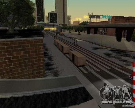 Nouvelle station de chemin de fer pour GTA San Andreas deuxième écran