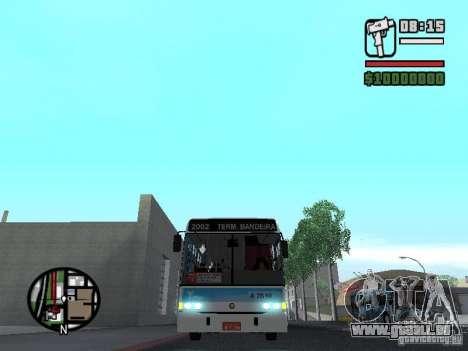 Marcopolo Torino GV Trolebus für GTA San Andreas Seitenansicht