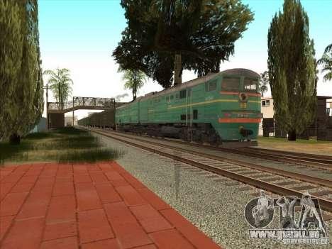 2te10v-3390 für GTA San Andreas zurück linke Ansicht