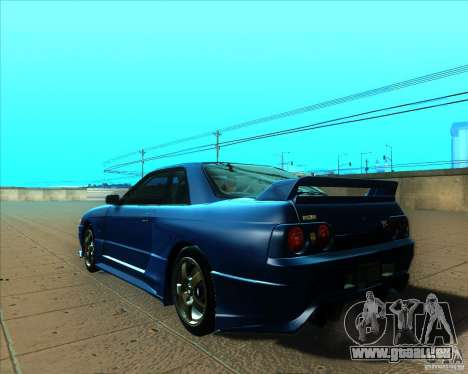 Nissan Skyline GT-R R32 1993 Tunable für GTA San Andreas Innen