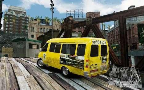Gazelle 2705 Taxi V 2.0 für GTA 4 linke Ansicht