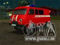 UAZ-pompiers pour GTA San Andreas
