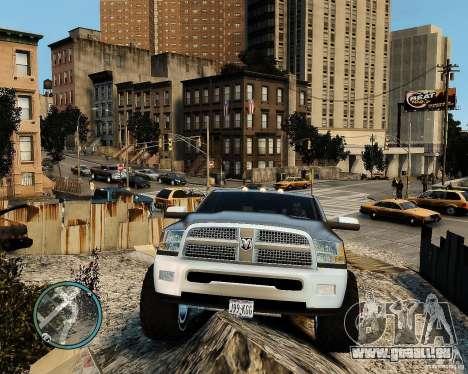 Dodge Ram 3500 Stock für GTA 4 Rückansicht