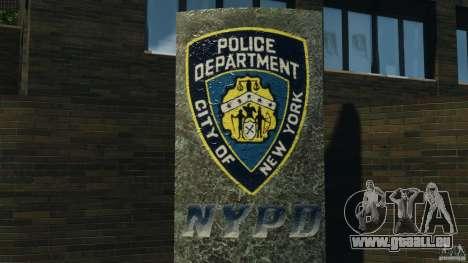 Remake second police station pour GTA 4 quatrième écran