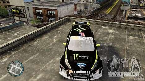 Ken Block Ford Fiesta 2011 für GTA 4 rechte Ansicht