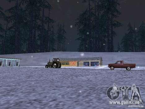 Neige pour GTA San Andreas sixième écran