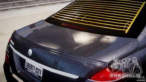 Mercedes-Benz S-Class W221 BRABUS SV12 für GTA 4 Innen