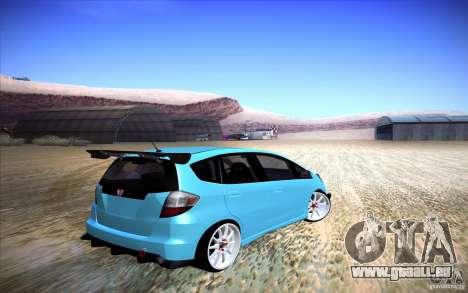 Honda Fit für GTA San Andreas zurück linke Ansicht