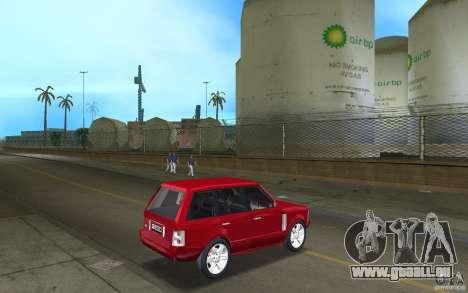 Range Rover Vogue 2003 pour une vue GTA Vice City de la droite