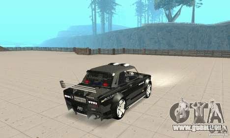 Tunning de VAZ 2106 Fantasy ART pour GTA San Andreas laissé vue