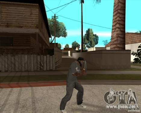 Rambo HD pour GTA San Andreas troisième écran