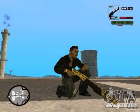 Shotgun Gold für GTA San Andreas