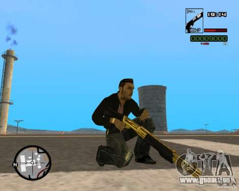 Shotgun Gold pour GTA San Andreas