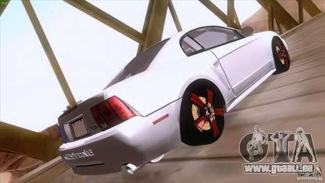 Ford Mustang GT 1999 pour GTA San Andreas vue de côté