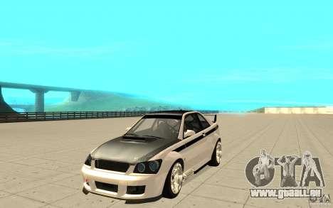 GTA IV Sultan RS FINAL pour GTA San Andreas