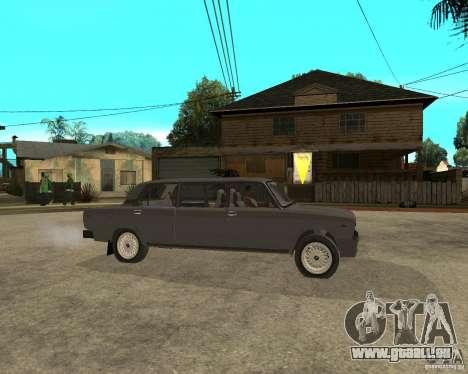 VAZ 2105 Limousine pour GTA San Andreas vue de droite