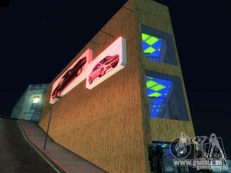 Nouveau showroom à San Fiero pour GTA San Andreas deuxième écran