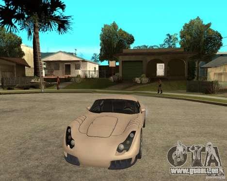 TVR Sagaris pour GTA San Andreas vue arrière