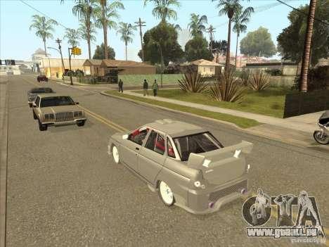 LADA-21103-Street-Tuning v1. 0 für GTA San Andreas Innenansicht