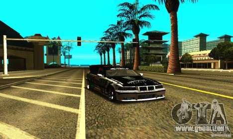 BMW E36 Drift pour GTA San Andreas vue de côté