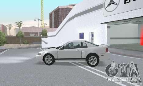 Ford Mustang GT 2003 pour GTA San Andreas vue de côté
