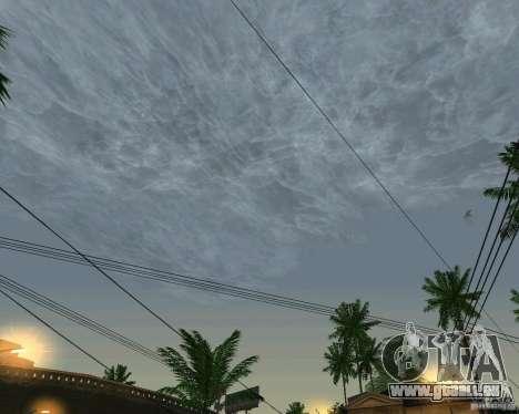 Neue Wolken für GTA San Andreas zweiten Screenshot