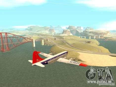 Boeing 377 Stratocruiser pour GTA San Andreas laissé vue