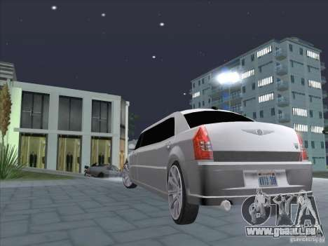 Chrysler 300C Limo für GTA San Andreas linke Ansicht
