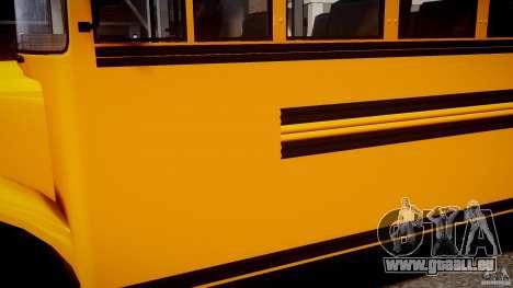 School Bus [Beta] pour GTA 4 Vue arrière