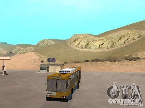 YUMZ T1 für GTA San Andreas Innenansicht