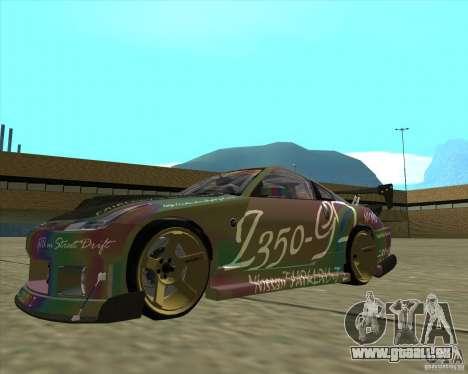 Nissan 350Z Fairlady pour GTA San Andreas