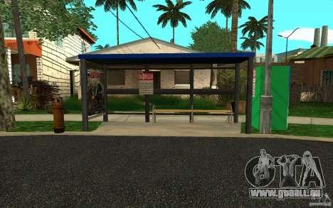 Nouvel arrêt de bus pour GTA San Andreas quatrième écran
