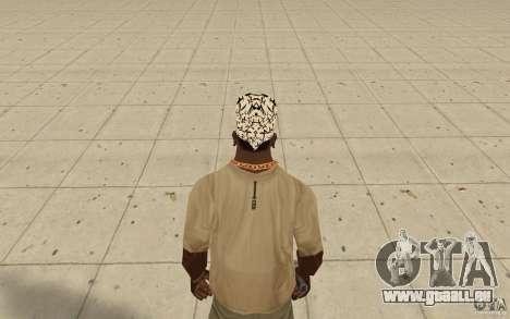 Paroles de kitay bandana pour GTA San Andreas troisième écran