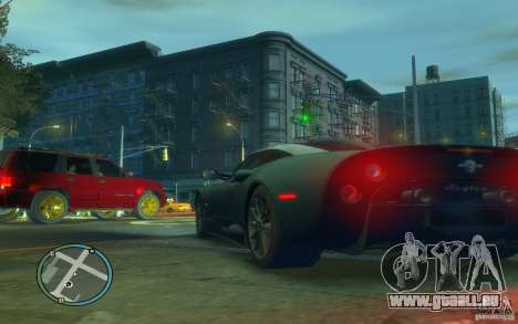 Spyker C8 Aileron für GTA 4 hinten links Ansicht