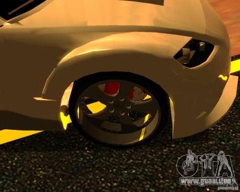 Mazda RX8 pour GTA San Andreas vue de droite