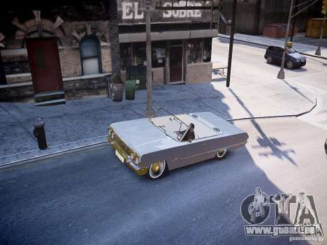 Chevrolet Impala 63 pour GTA 4