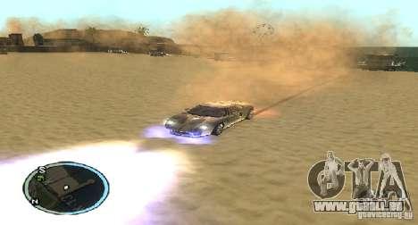 Xenon v4 pour GTA San Andreas troisième écran