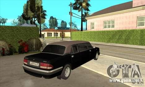 GAZ 3110 Sedan pour GTA San Andreas vue de droite