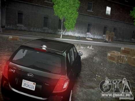 Kia Ceed für GTA 4 Rückansicht
