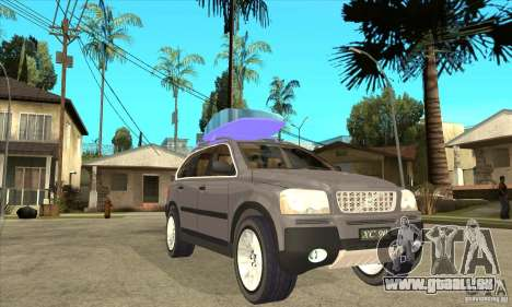 Volvo XC90 Sport pour GTA San Andreas vue arrière