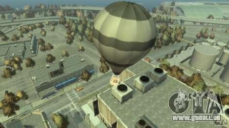 Balloon Tours option 5 pour GTA 4 Vue arrière de la gauche