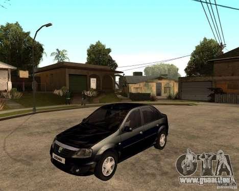 Dacia Logan 2008 für GTA San Andreas