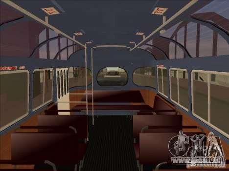 PAZ 672 pour GTA San Andreas vue arrière