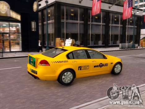 Holden NYC Taxi V.3.0 für GTA 4 rechte Ansicht